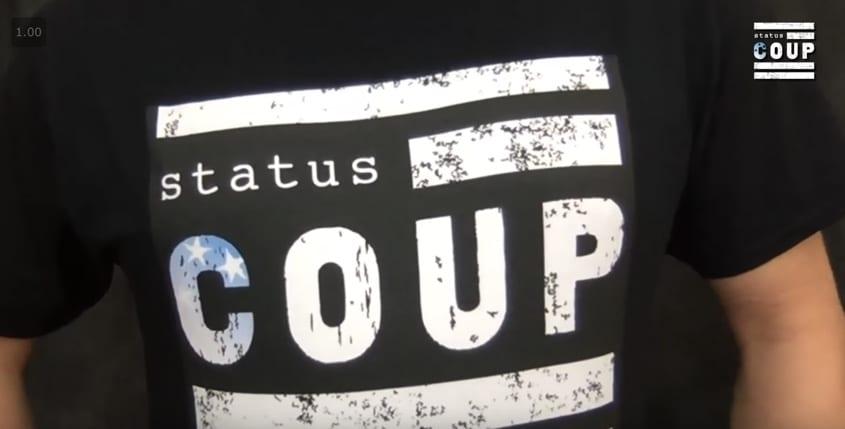 Get a Status Coup Shirt!