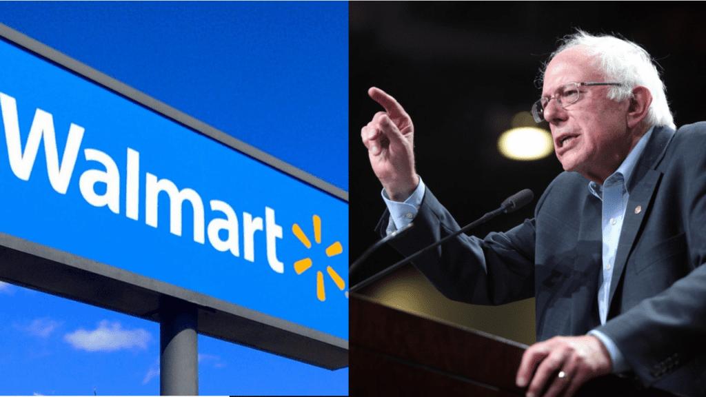 Bernie Sanders Takes on Walmart