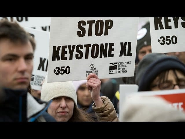 Keystone XL Pipeline Halted