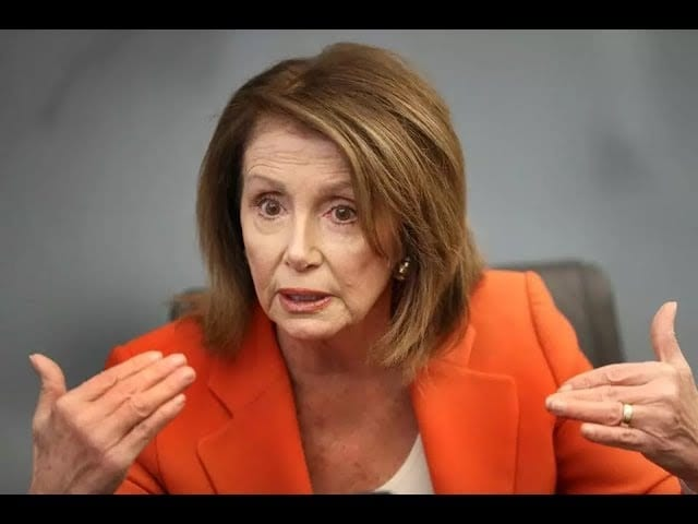 Nancy Pelosi's Answer for DIRE Climate Change…a Committee!