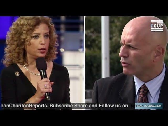Debbie Wasserman Schultz and Tim Canova