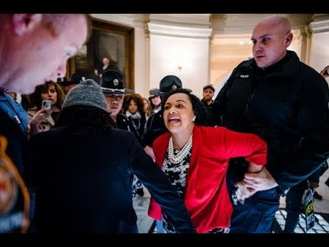 Sen. Nikema Williams Was Arrested Protesting for Stacey Abrams Georgia Election