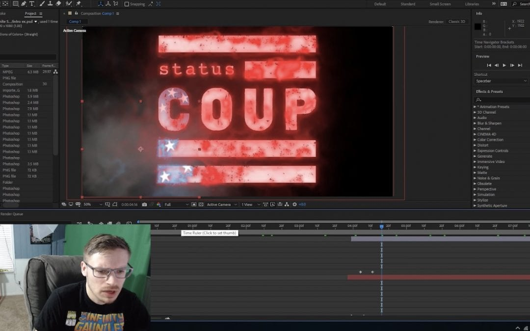 Members Behind-the-Scenes: The Making of Status Coup's Introduction Animation