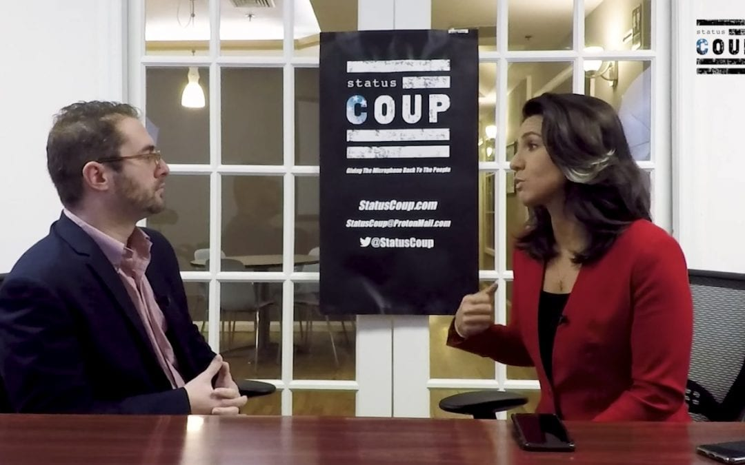 Tulsi Gabbard Interview: Taking On the Military Industrial Complex, Torture, and Her Evolution on Homosexuality