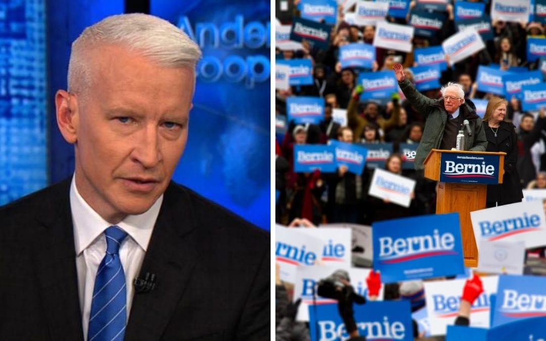 Bernie Sanders Supporters: CNN is Part of the Establishment