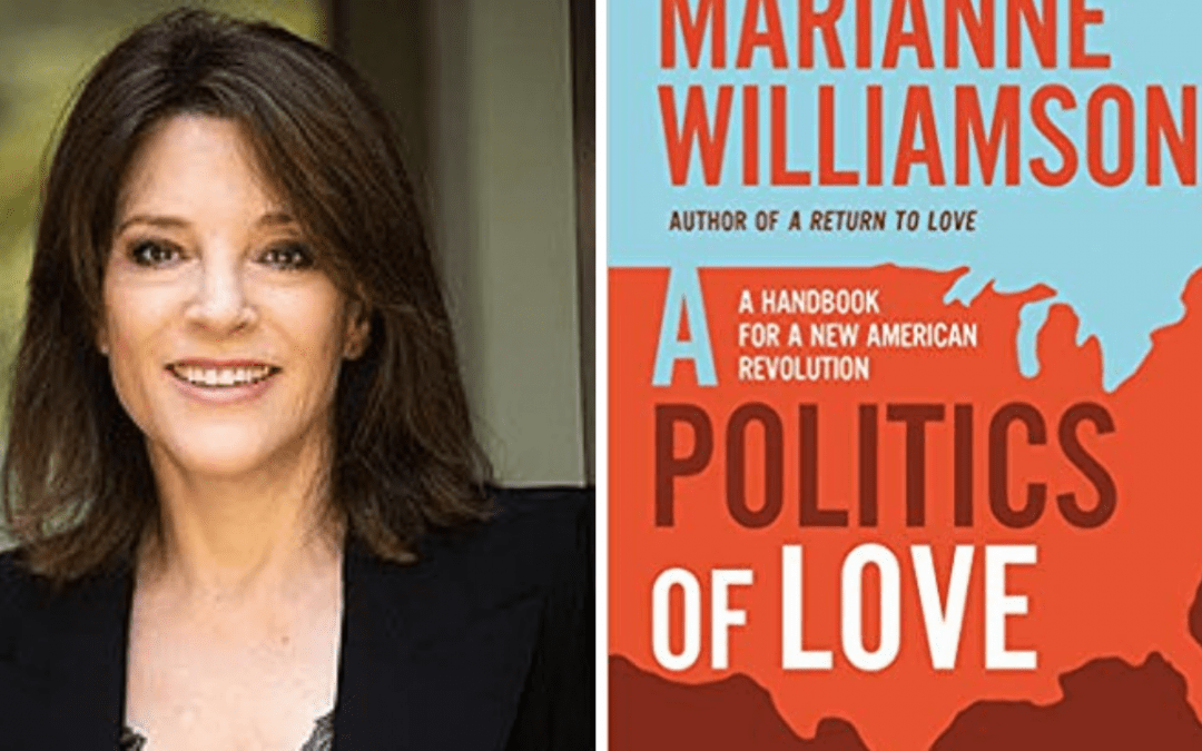 Marianne Williamson Interview: 2020 Campaign, Reparations, Moral Dysfunction of America