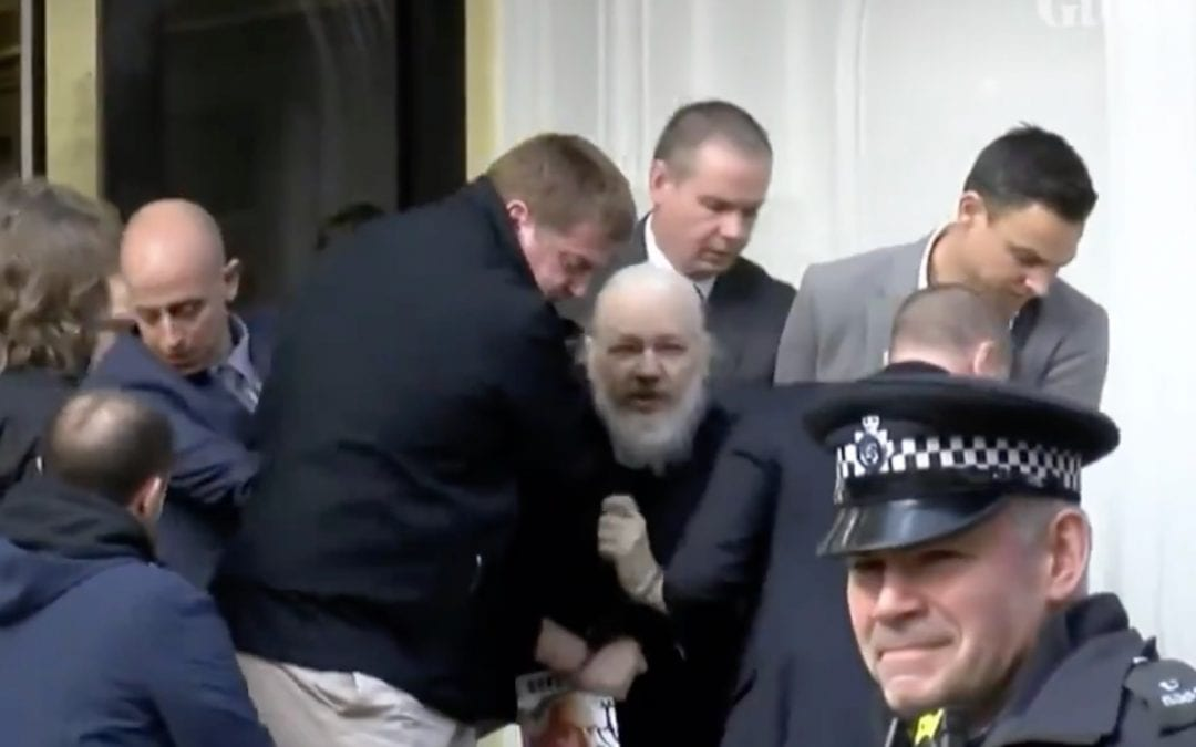 BREAKING: Julian Assange Arrested on U.S. Extradition Request