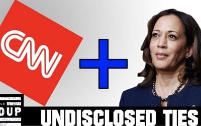 Why is CNN Not Disclosing Its Parent Company AT&T Gave $51,000 to Kamala Harris' Campaign?