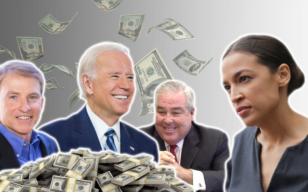 Joe Biden Raising Cash From Ocasio-Cortez-Hating GOP Donor, Former CA Official Who Tried to Help Domestic Abuser