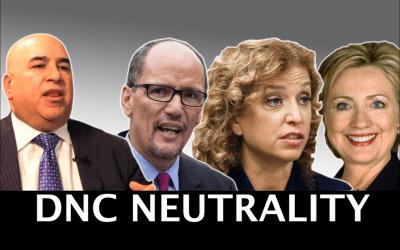 DNC Pledges Neutrality After Hiring Debbie Wasserman Schulz & Hillary Clinton Mega Donor as Finance Chair