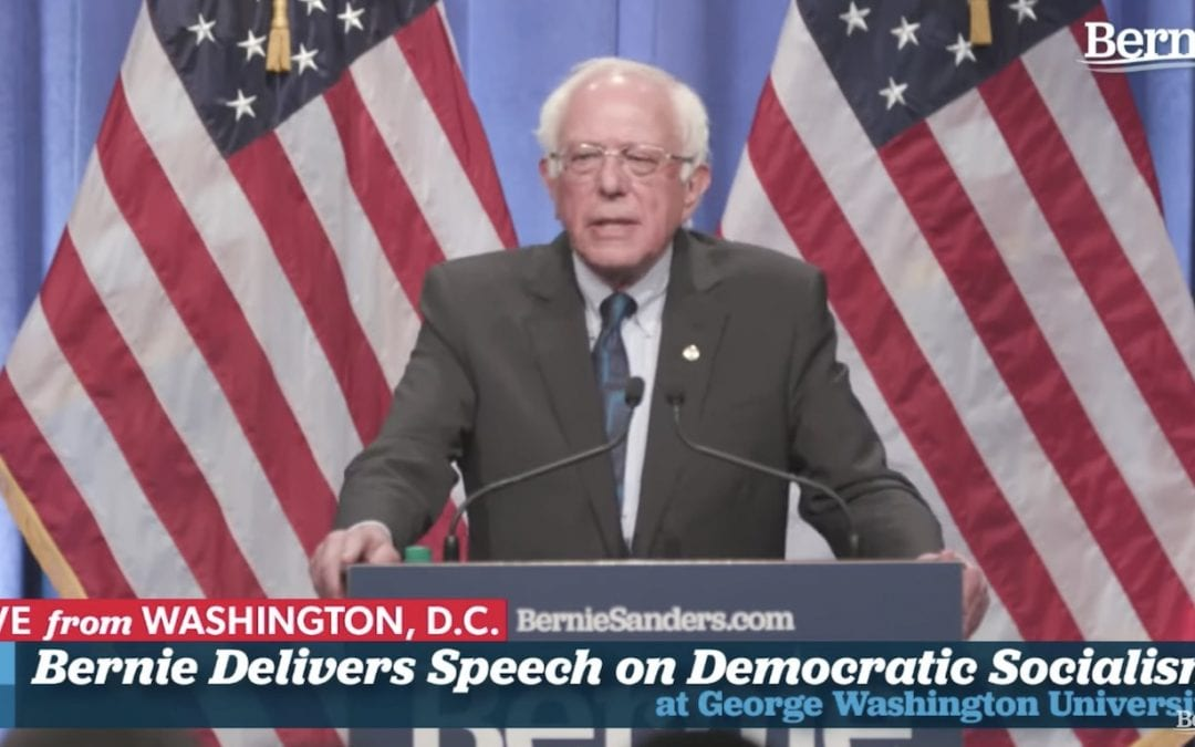 Members' Exclusive: Jenn on Covering Bernie Sanders' Democratic Socialism Speech