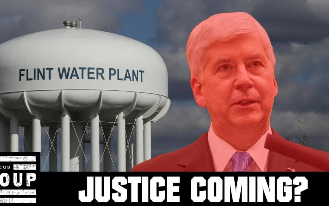Ex-MI Gov Rick Snyder's State-Owned Phone Seized in Flint Water Crisis Investigation