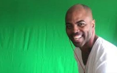 Member Video: Ty Setting Up the Green Screen!