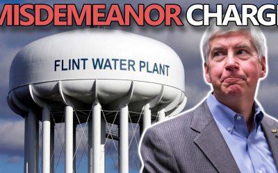 Flint Resident: Governor Snyder Getting Jaywalking Ticket for Poisoning Flint