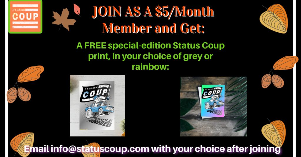 Join as $5/month member